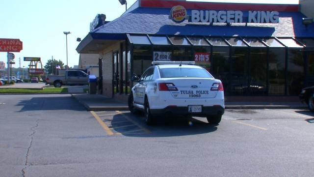 Tulsa Man Connected To Burger King Robbery In Jail For Gun Crimes