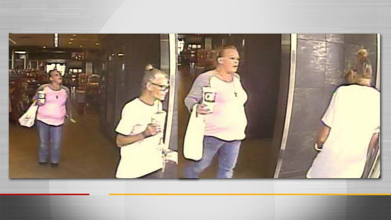 Tulsa Police Release Photos In Theft Investigation