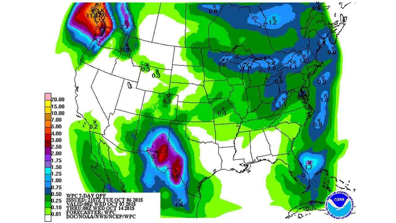 Dick Faurot's Weather Blog: Warmer, Then Brief Cool-Down, Then Warmer Again