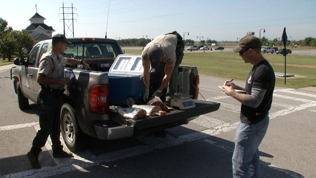 Game Wardens Catch Three Men Accused Of Poaching Paddlefish In Tulsa