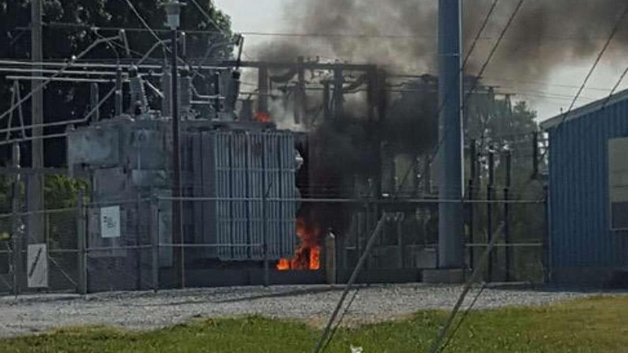 Thousands Lose Power After Broken Arrow Substation Fire