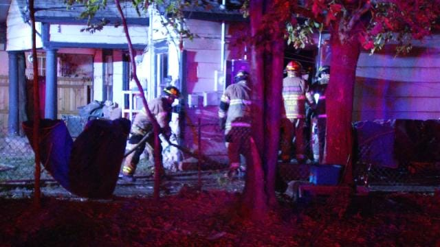 Twelve Displaced By Tulsa House Fire