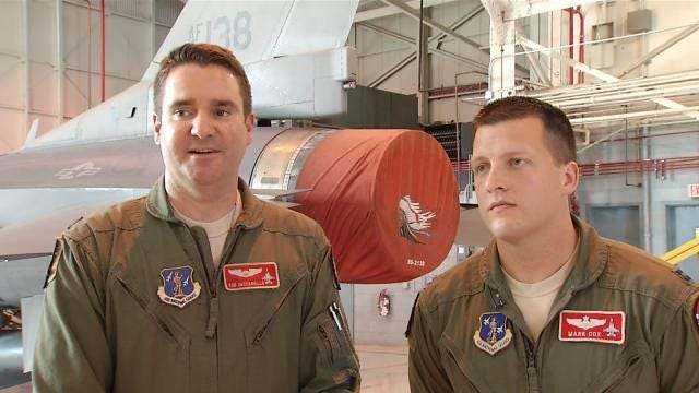 Tulsa Air National Guardsmen Deploy To Japan For Support Mission