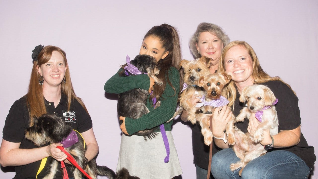 Ariana Grande Adopts Dog From Tulsa Shelter Before Concert