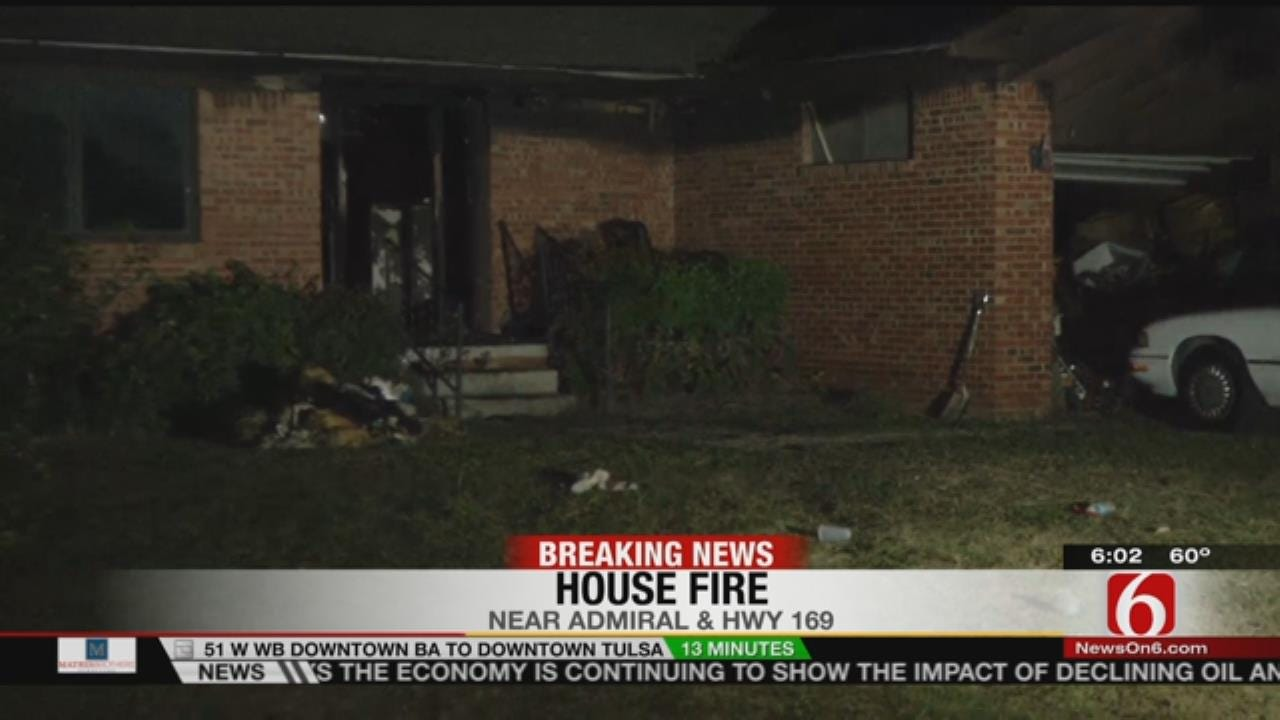 Cat Wakes Tulsa Family When Home Catches Fire
