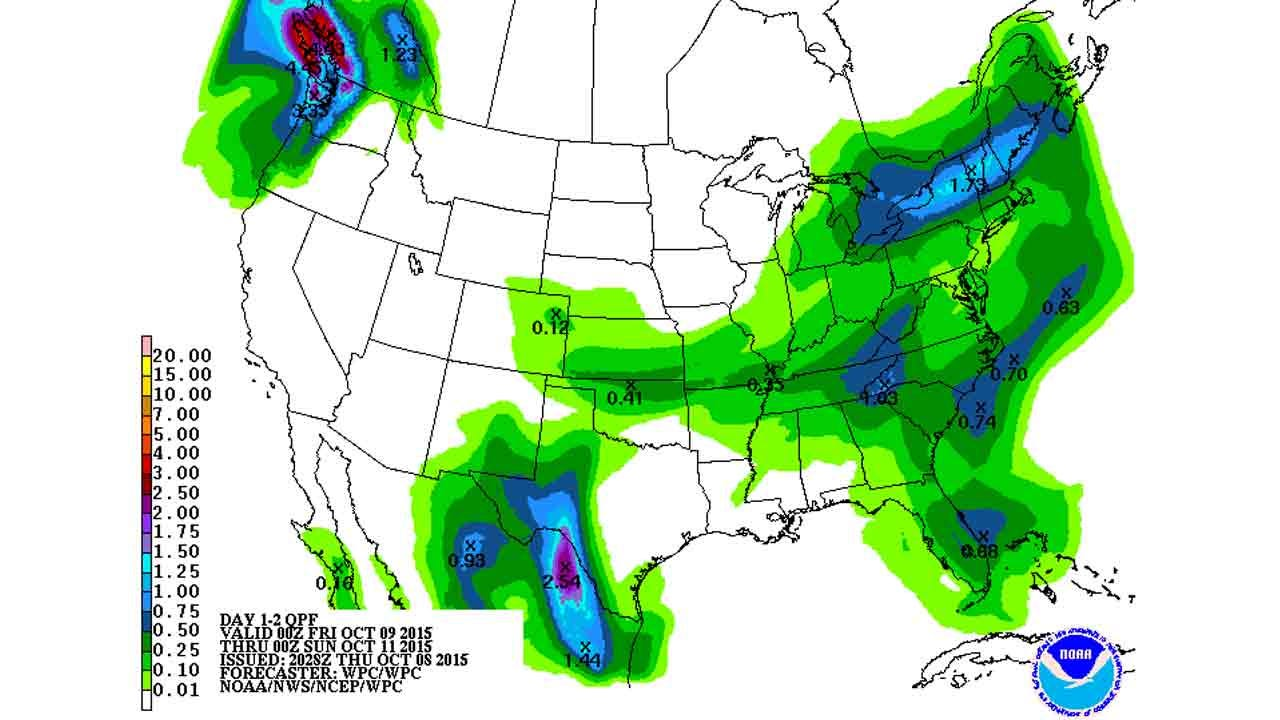 Dick Faurot's Weather Blog: Chance Of Rain On The Way