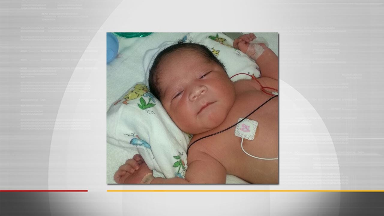Law Enforcement Safely Locates Missing Latimer County Newborn