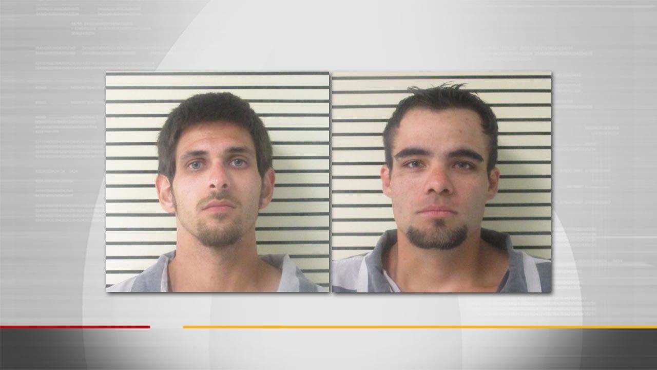 Wagoner County Deputies Arrest 2 Men For Burglary, Credit Card Fraud