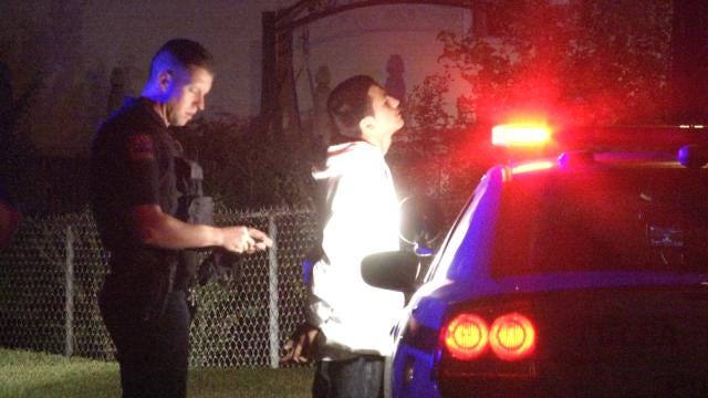 7 Teens Arrested After Tulsa Police Pursuit