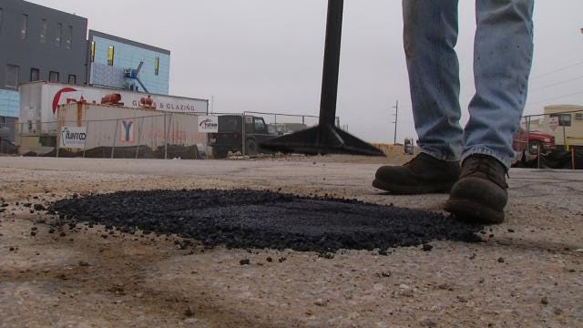 Tulsa's Pothole Problem And What's Being Done To Fix It