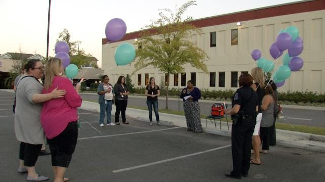 Advocates Hold Vigil To Raise Awareness For Suicide Prevention