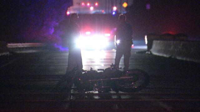 Motorcycle Rider Hits Barrel In Tulsa Construction Zone