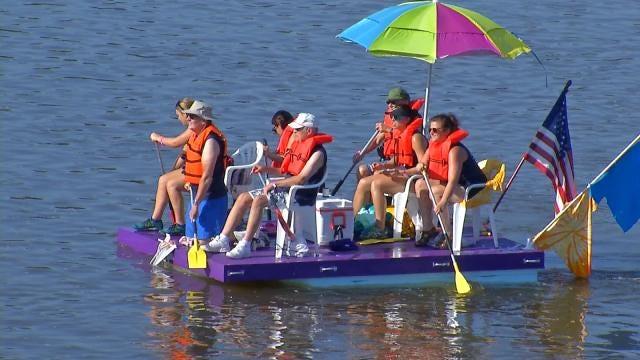 Tulsa's Great Raft Race Will Return Next Year