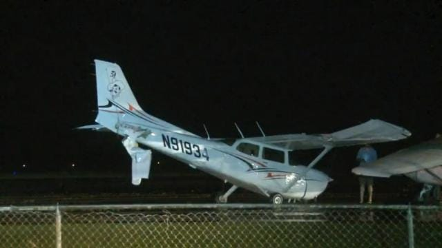 Storm Destroys Planes At Stillwater Airport