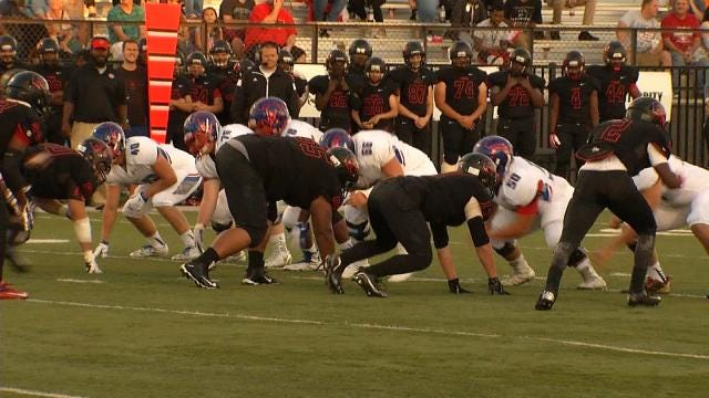Bixby Crushes East Central