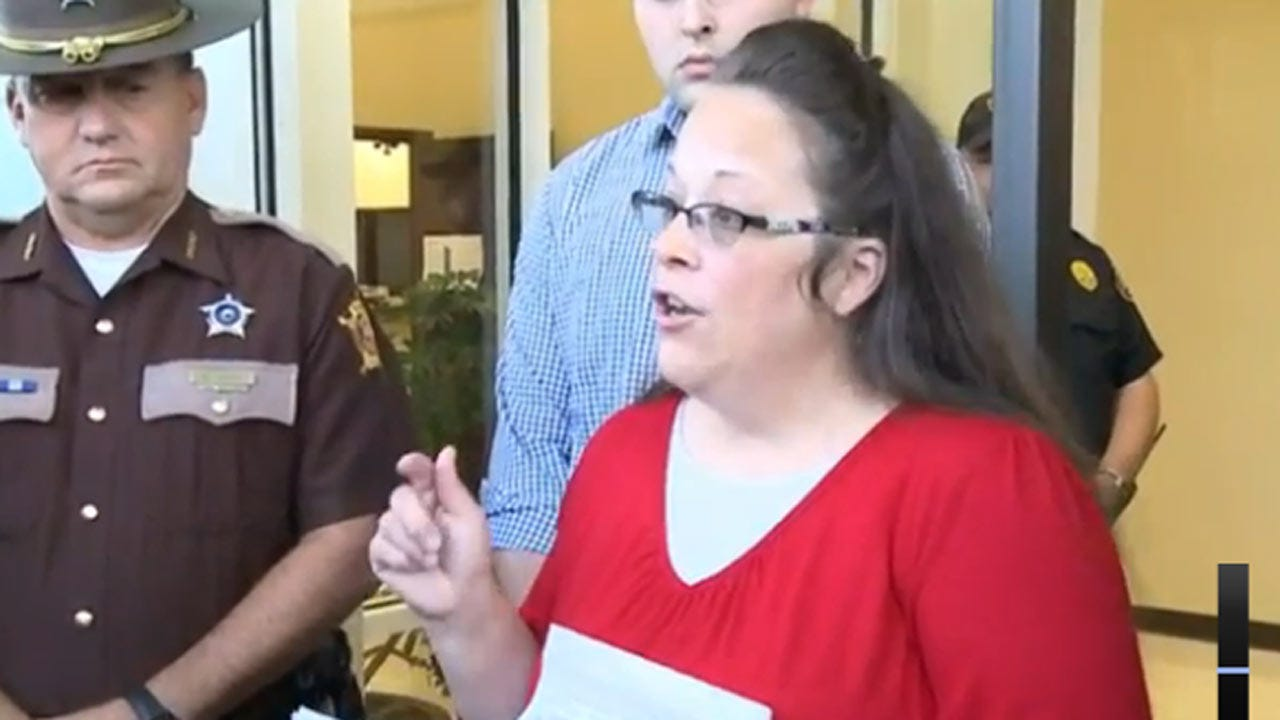 Kentucky Clerk Won't Interfere, Will Not Authorize Gay Marriage Licenses