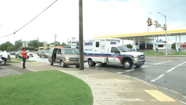 Pickup Hits Child At Tulsa Intersection