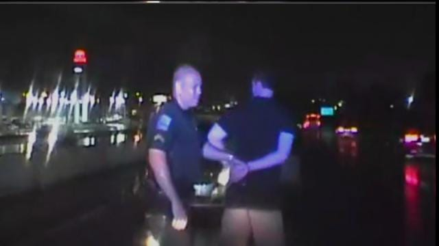 Tulsa Police: Video Shows Arrest Of Wrong-Way DUI Driver