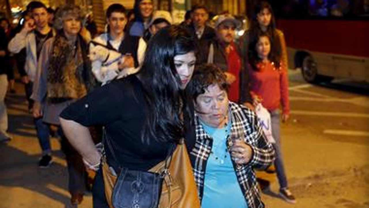 Chile Rocked By Deadly 8.3 Magnitude Earthquake
