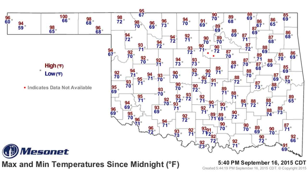 Dick Faurot's Weather Blog: Warm And Humid, But Cooler For Weekend