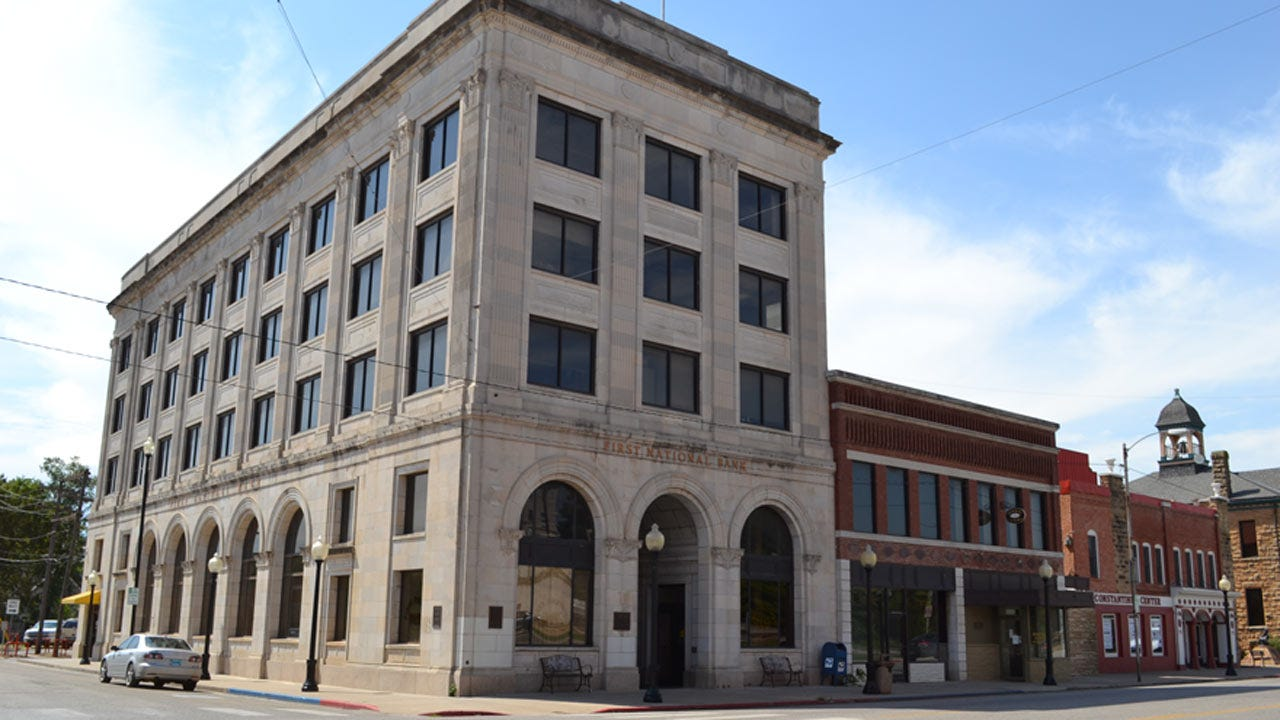 Osage Nation Buys Pawhuska's First National Bank Building