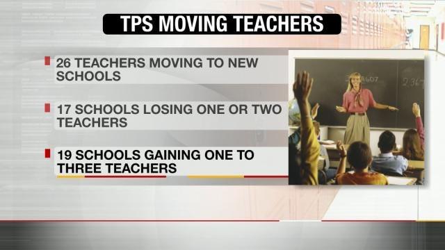 TPS 'Teacher Shuffle' Causing Disruption
