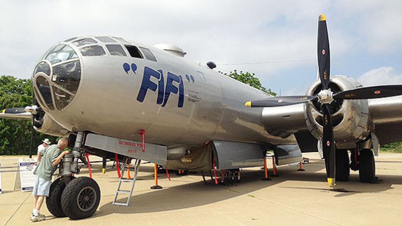 Boeing B-29 Bomber Coming To Muskogee