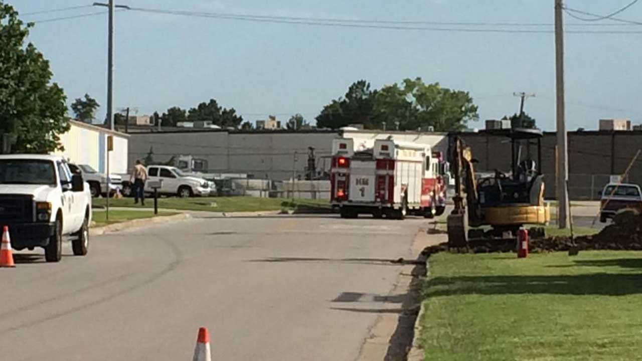Gas Leak Forces Evacuations At Tulsa Building