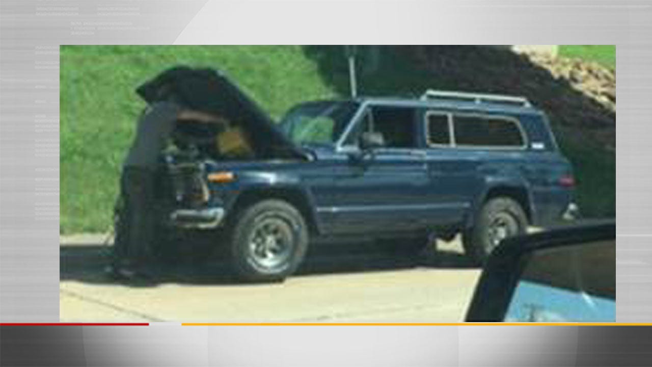 Tulsa Detectives Searching For Stolen SUV, Person Of Interest
