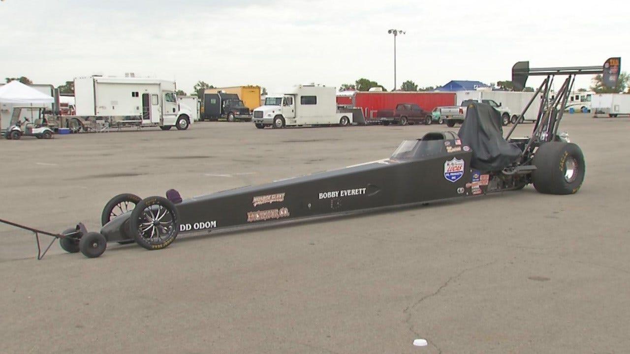 Drag Racing Legends 'Snake' And 'Mongoose' Visit Tulsa