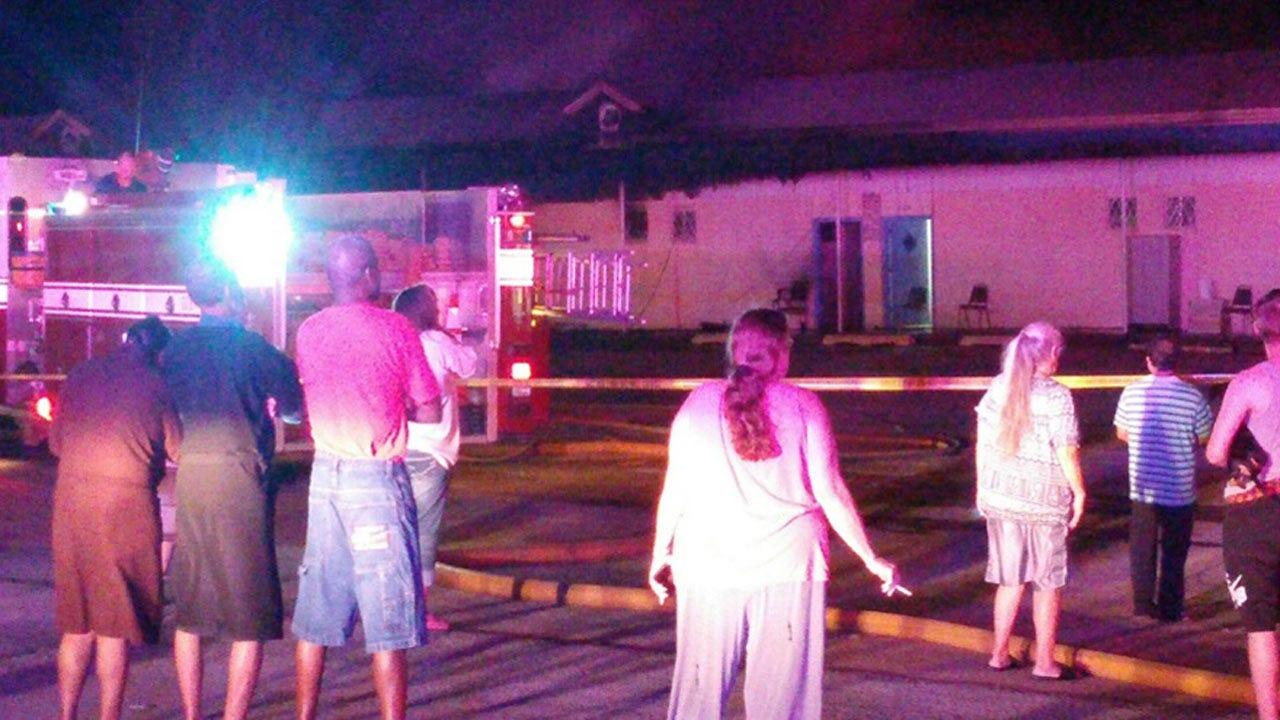 Fire Damages Okmulgee Motel