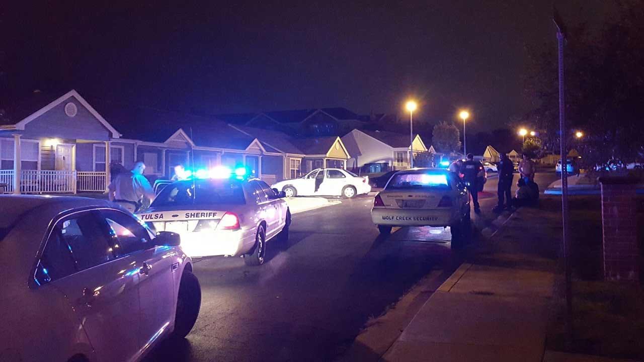 Tulsa Deputies Catch Teen In Stolen Car