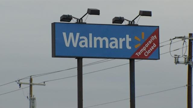 Tulsa Walmart To Reopen After Closing For Plumbing Issues, Renovations