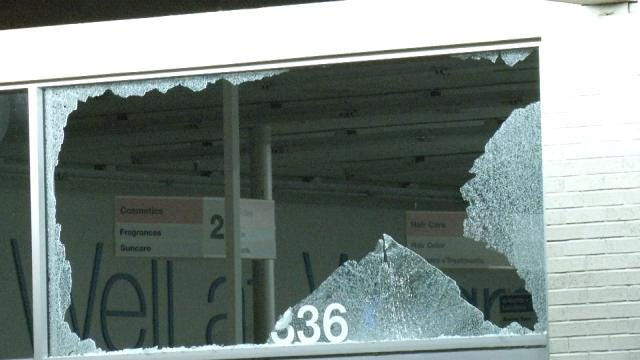 Windows Shot Out At Tulsa Businesses