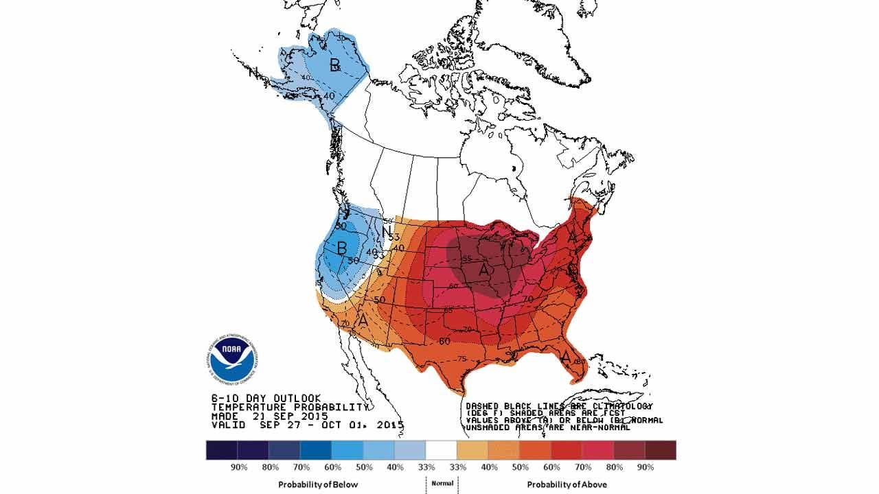 Dick Faurot's Weather Blog: Summer Ends On A Warm Note