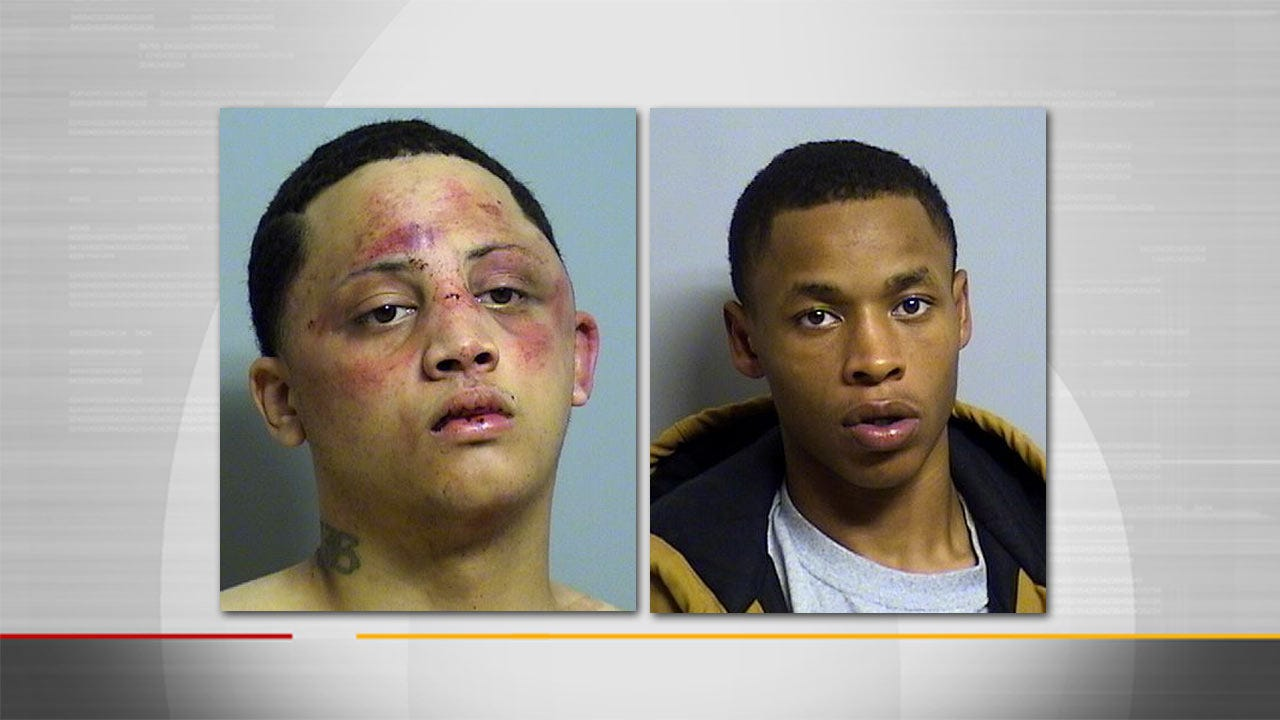 Two Arrested After Running From Tulsa Police