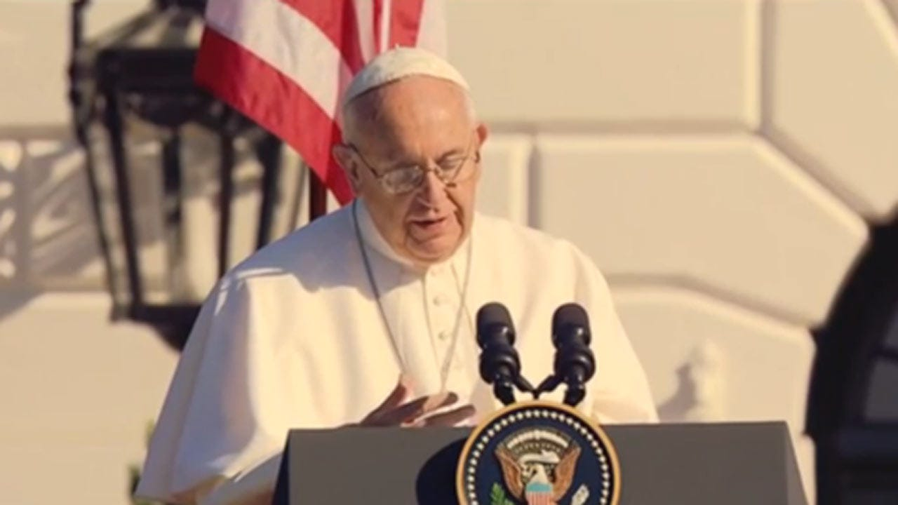 President Obama Welcomes Pope Francis To The White House