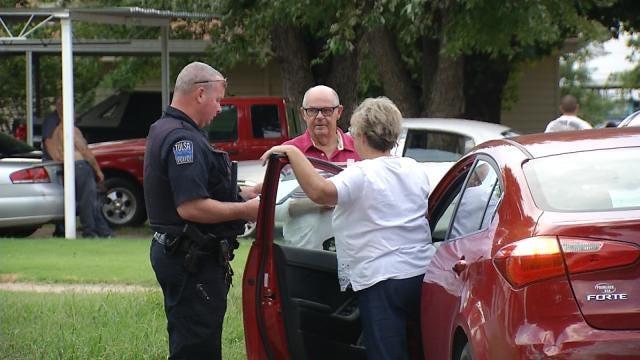 Unafraid, Elderly Tulsa Couple Confronts Suspected Car Thief