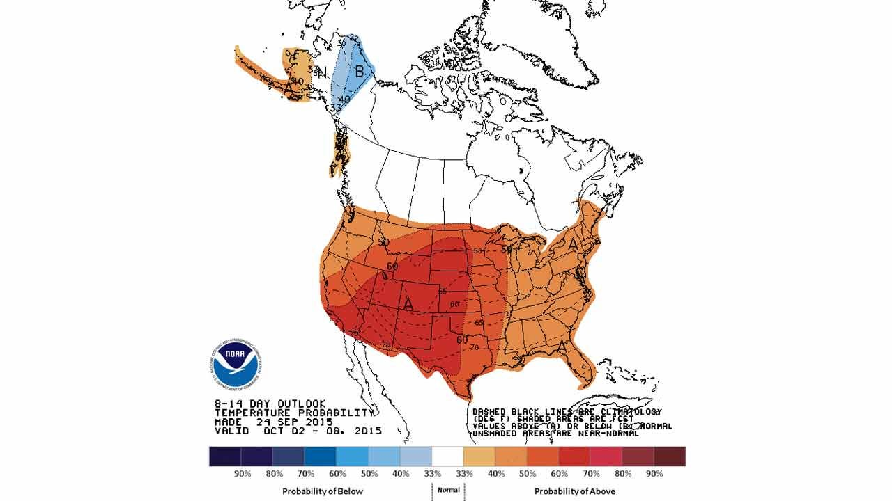 Dick Faurot's Weather Blog: Fall Weather Will Be Hard To Find