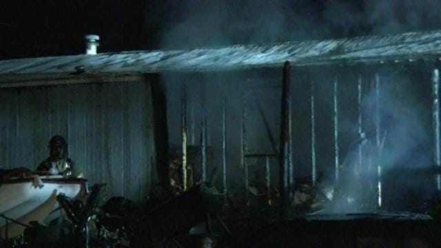 Fire Destroys Osage County Mobile Home