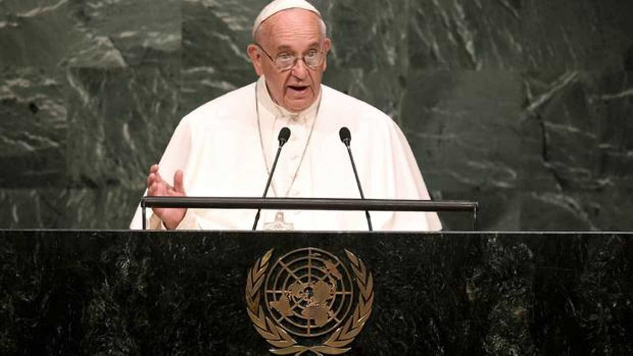 Pope: 'Human Beings Take Precedence Over Partisan Interests'