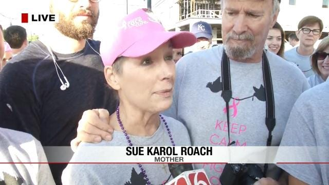 Daughter On Wedding Day Honors Mom At Tulsa's Race For The Cure