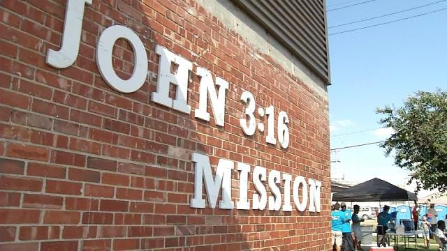 John 3:16 Mission Holds Block Party For Homeless Awareness