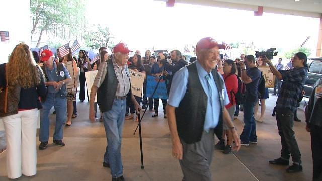 Cherokee Nation Warrior Flight Sends 11 Veterans To D.C.