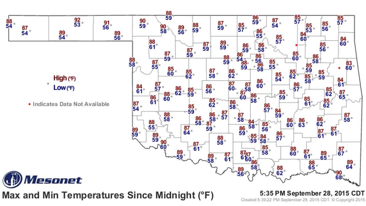 Dick Faurot's Weather Blog: Cooler Weather On The Way, Finally