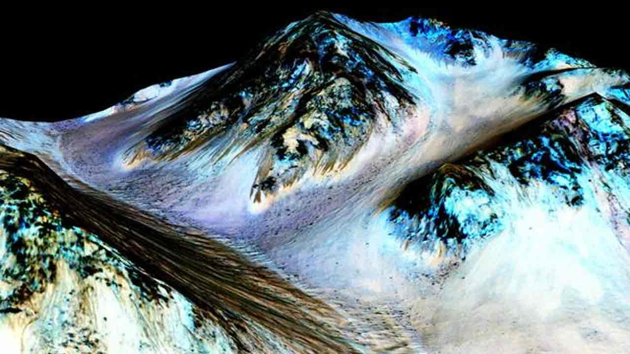 First 'Unambiguous' Signs Of Water On Mars