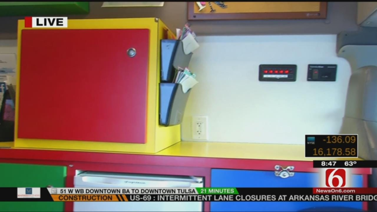 Oklahoma Caring Vans Providing Immunizations For Children