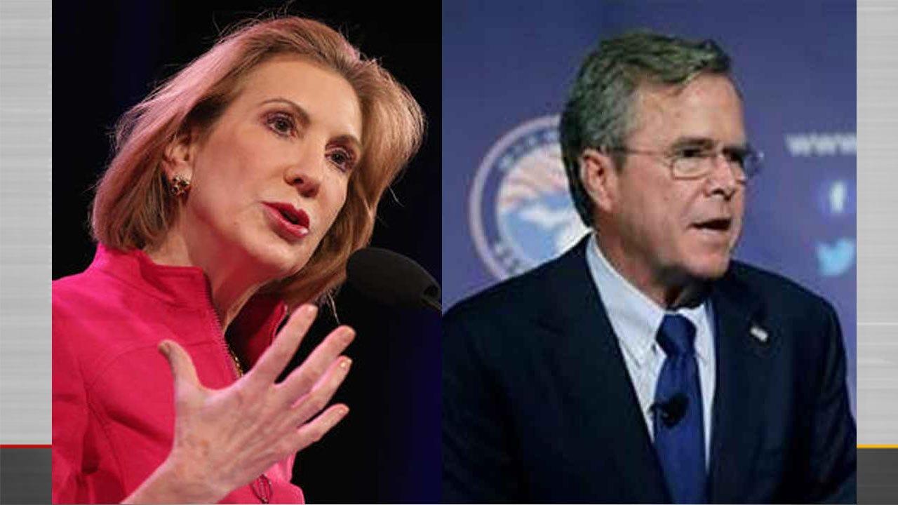 Republicans Carly Fiorina, Jeb Bush Planning Stops In Oklahoma City