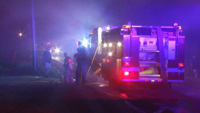 Family Escapes Burning Berryhill Home