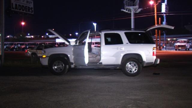 Police Arrest Driver, Recover Stolen SUV After Tulsa Chase